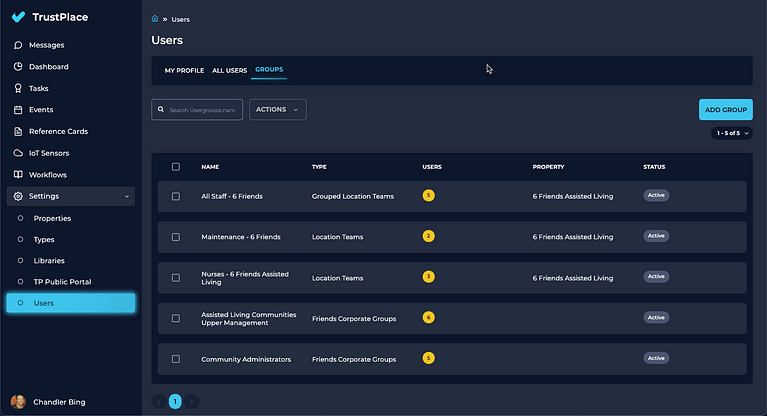 Easily Organize Your Teams Based on How You Physically Operate
